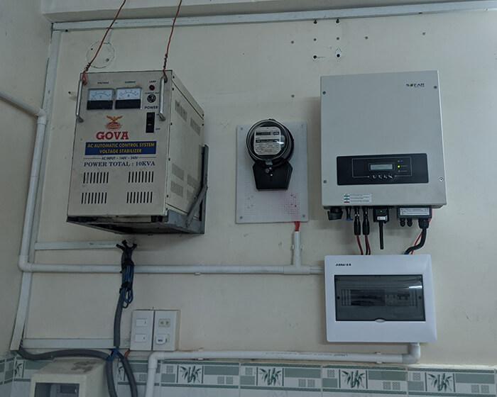 Dự án điện mặt trời hòa lưới 8KW ở Khu dân cư Phú An Cần Thơ 8