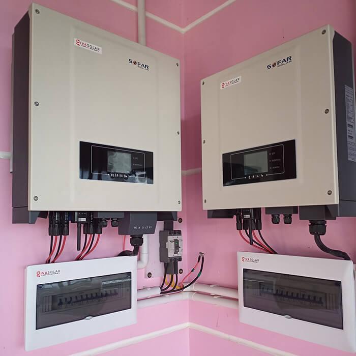 điện mặt trời hòa lưới 45KW cho anh Dũng ở Đắk Nông 6