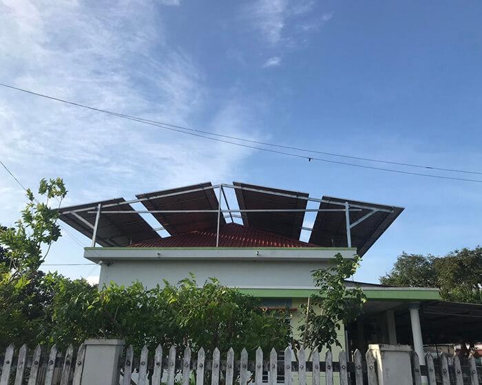 dự án hòa lưới điện mặt trời 100KW cho anh Phương ở Bà Rịa Vũng Tàu 10