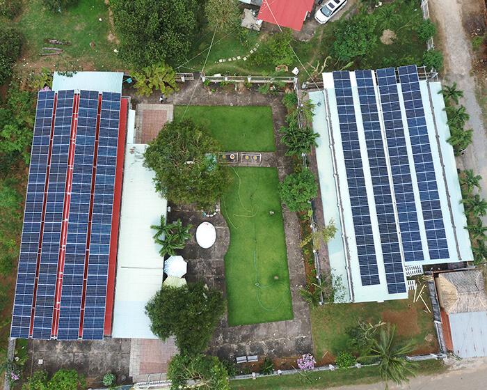 dự án hòa lưới điện mặt trời 100KW cho anh Phương ở Bà Rịa Vũng Tàu 12