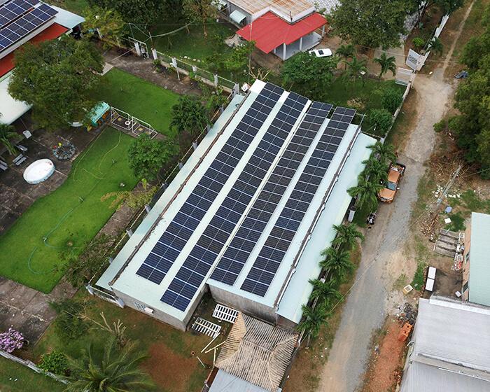 dự án hòa lưới điện mặt trời 100KW cho anh Phương ở Bà Rịa Vũng Tàu 13