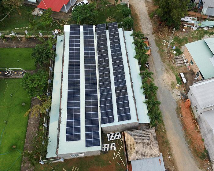 dự án hòa lưới điện mặt trời 100KW cho anh Phương ở Bà Rịa Vũng Tàu 14