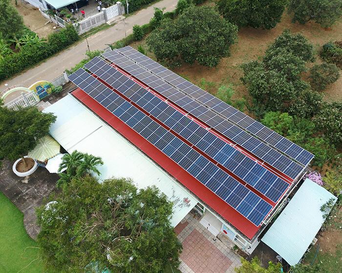 dự án hòa lưới điện mặt trời 100KW cho anh Phương ở Bà Rịa Vũng Tàu 15