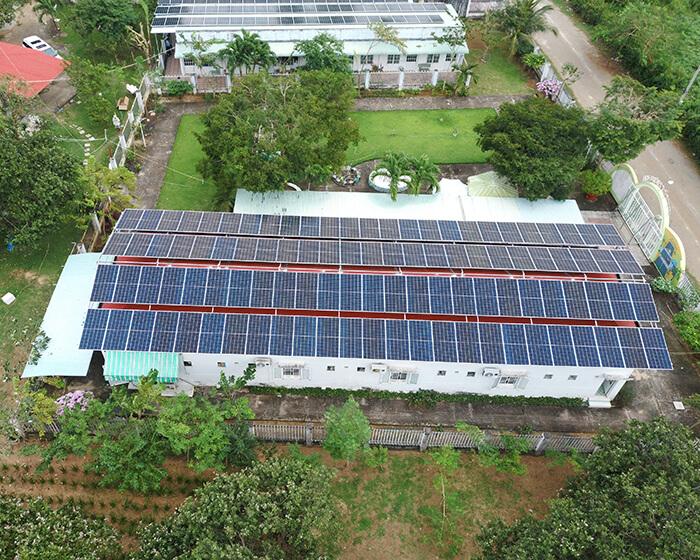 dự án hòa lưới điện mặt trời 100KW cho anh Phương ở Bà Rịa Vũng Tàu 16