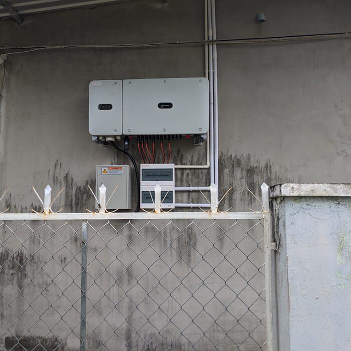 dự án hòa lưới điện mặt trời 100KW cho anh Phương ở Bà Rịa Vũng Tàu 19