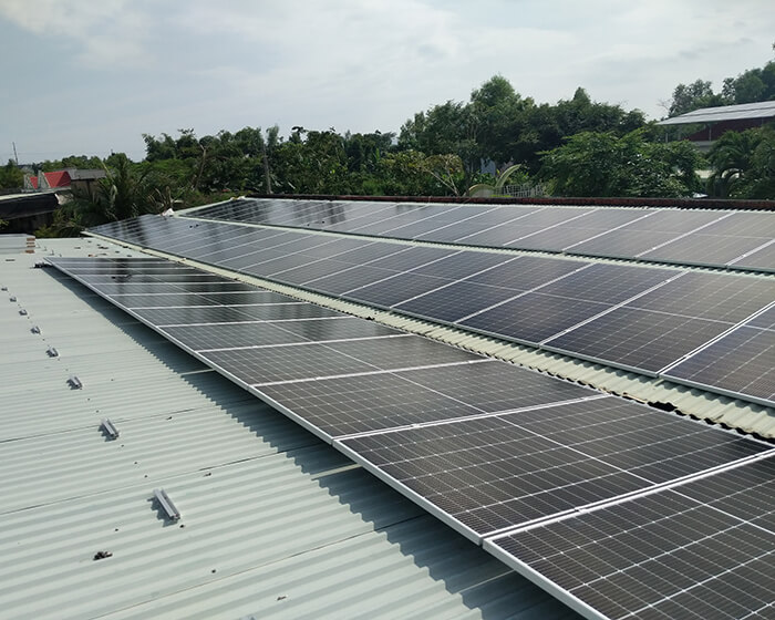 dự án hòa lưới điện mặt trời 100KW cho anh Phương ở Bà Rịa Vũng Tàu 6