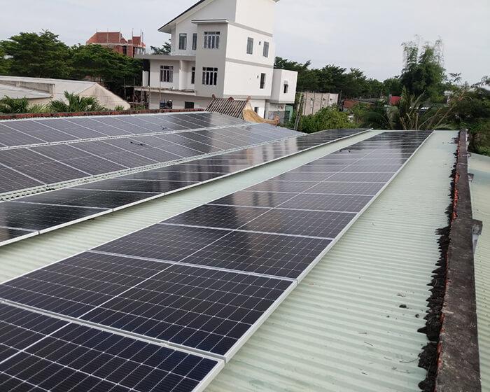 dự án hòa lưới điện mặt trời 100KW cho anh Phương ở Bà Rịa Vũng Tàu 7