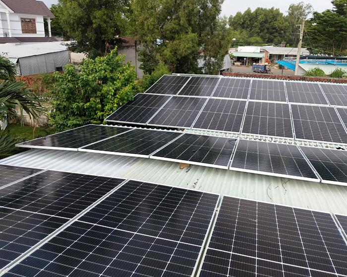 dự án hòa lưới điện mặt trời 100KW cho anh Phương ở Bà Rịa Vũng Tàu 8