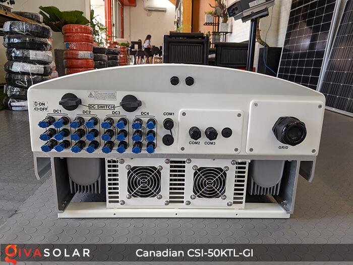 Inverter Canadian Solar CSI-50KTL-GI 50KW 7