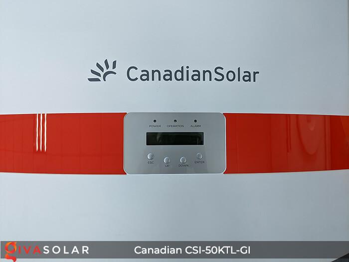 Inverter Canadian Solar CSI-50KTL-GI 50KW 8