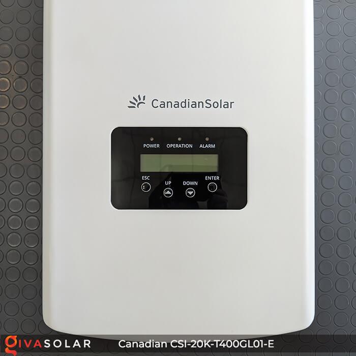 Inverter năng lượng mặt trời Canadian CSI-20K-T400GL01-E 8