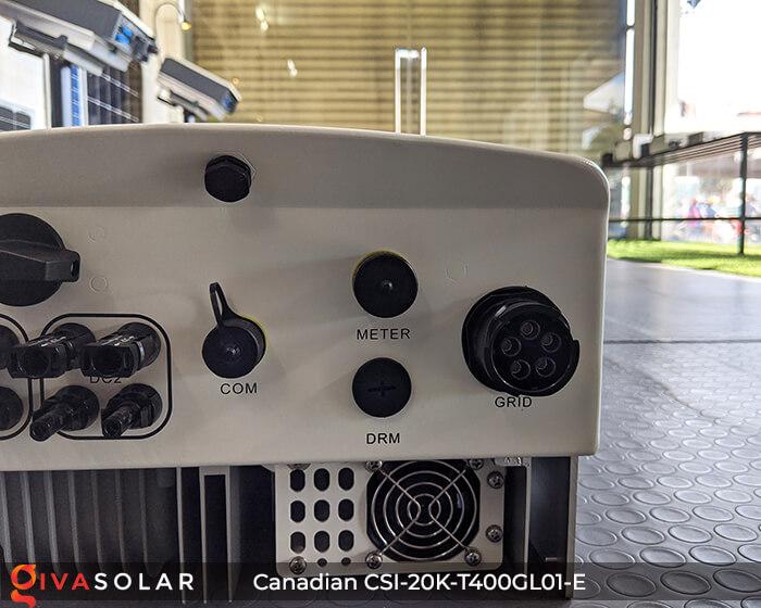 Inverter năng lượng mặt trời Canadian CSI-20K-T400GL01-E 9