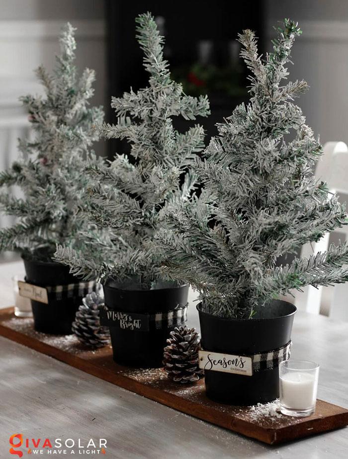 trang trí bàn ăn Noel tự làm tuyệt vời 1