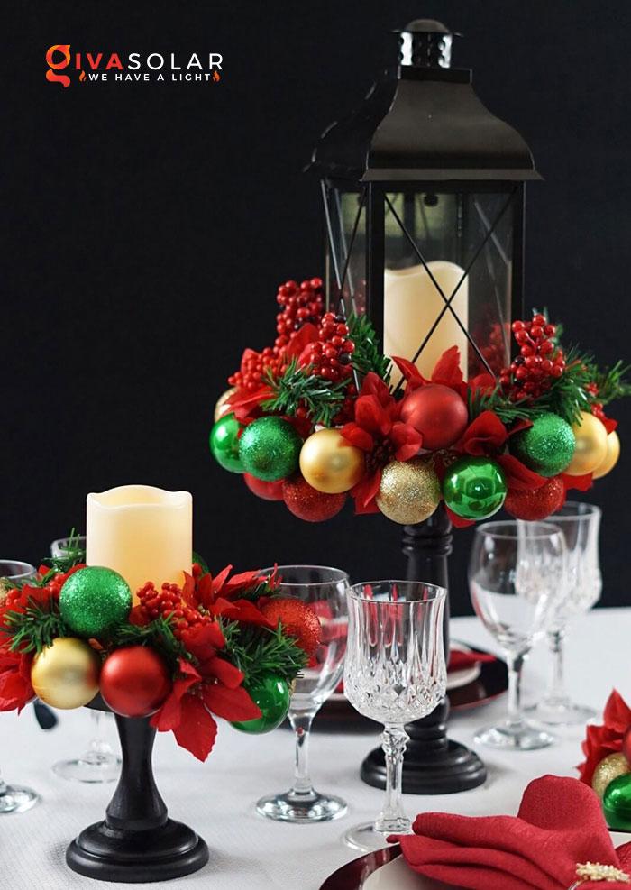 trang trí bàn ăn Noel tự làm tuyệt vời 10