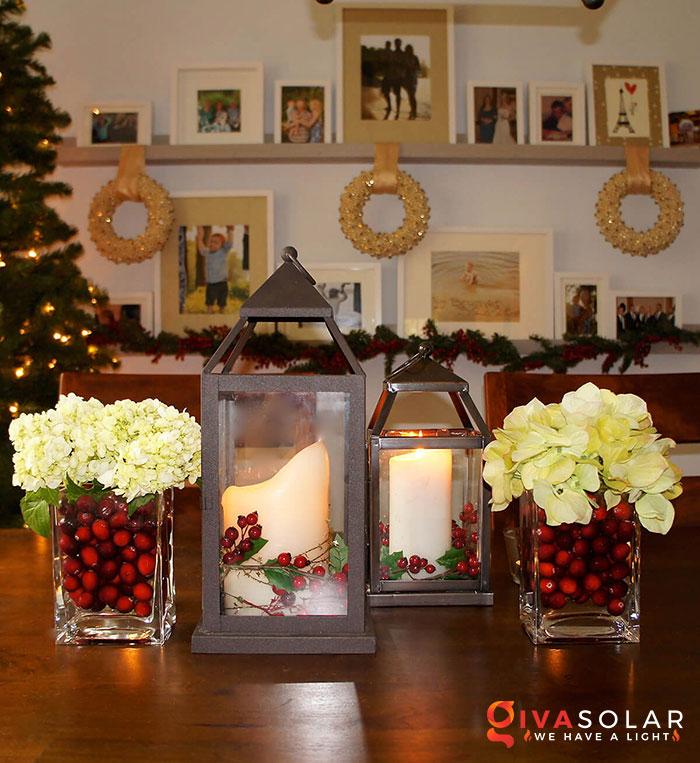 trang trí bàn ăn Noel tự làm tuyệt vời 17