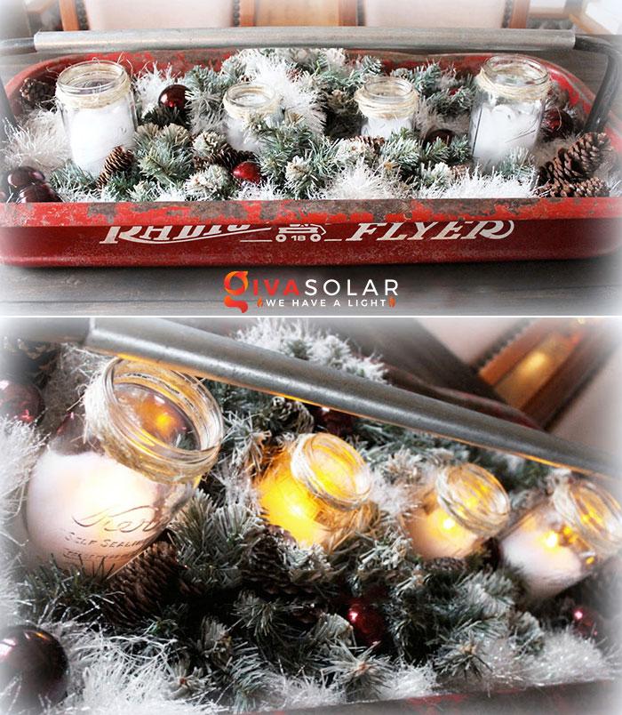 trang trí bàn ăn Noel tự làm tuyệt vời 20
