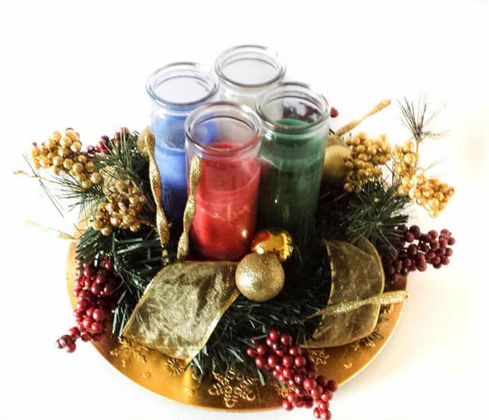 trang trí bàn ăn Noel tự làm tuyệt vời 22