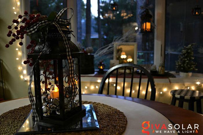 trang trí bàn ăn Noel tự làm tuyệt vời 23