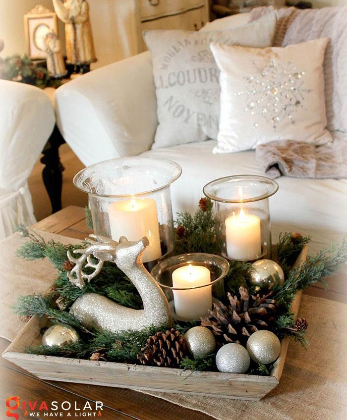 trang trí bàn ăn Noel tự làm tuyệt vời 24