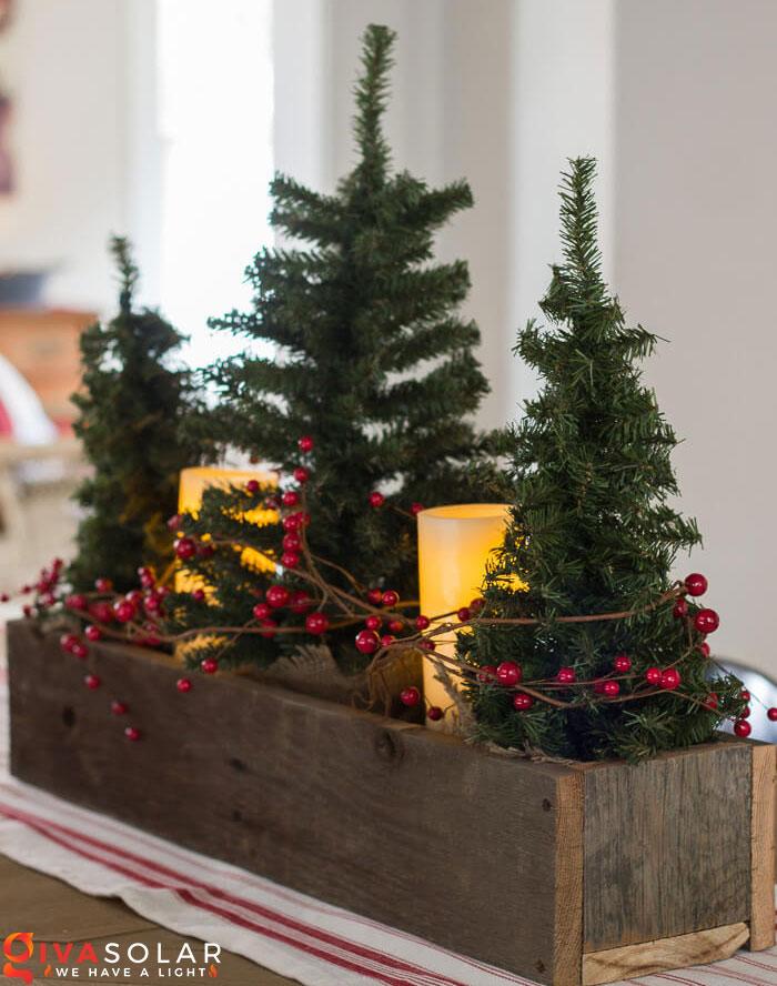 trang trí bàn ăn Noel tự làm tuyệt vời 25
