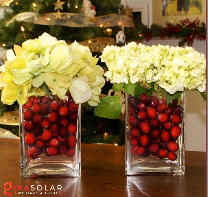 trang trí bàn ăn Noel tự làm tuyệt vời 26