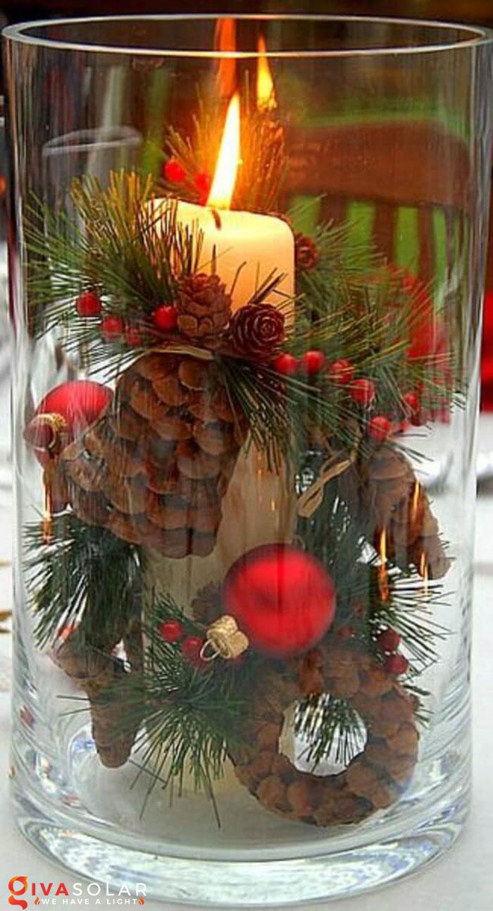 trang trí bàn ăn Noel tự làm tuyệt vời 28