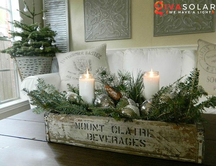 trang trí bàn ăn Noel tự làm tuyệt vời 33