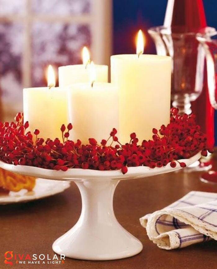 trang trí bàn ăn Noel tự làm tuyệt vời 34
