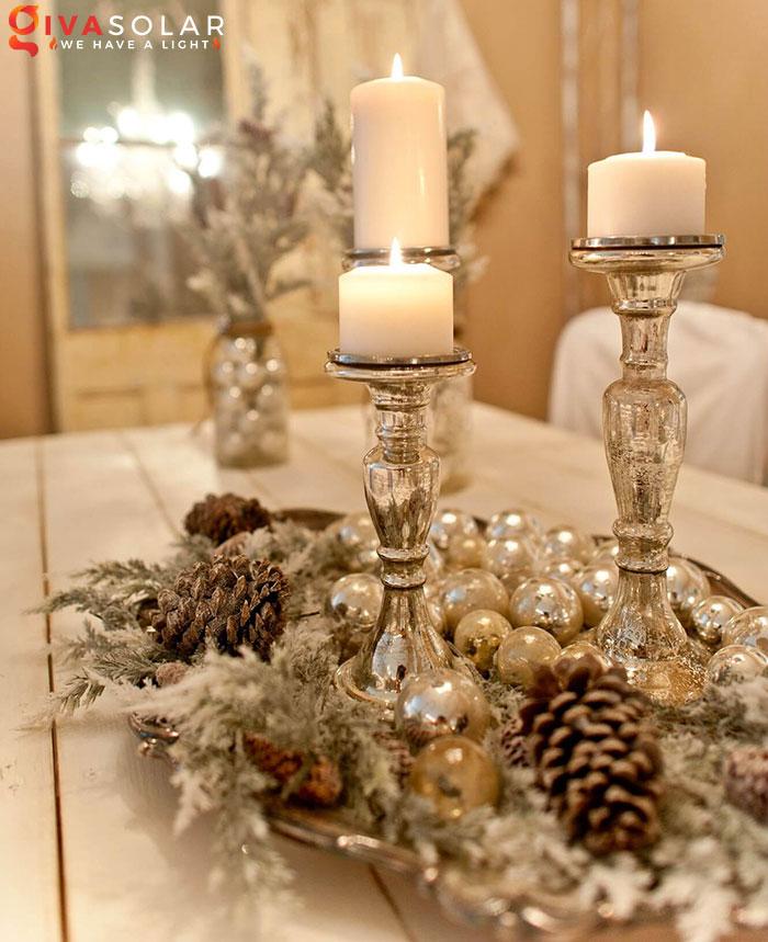 trang trí bàn ăn Noel tự làm tuyệt vời 35
