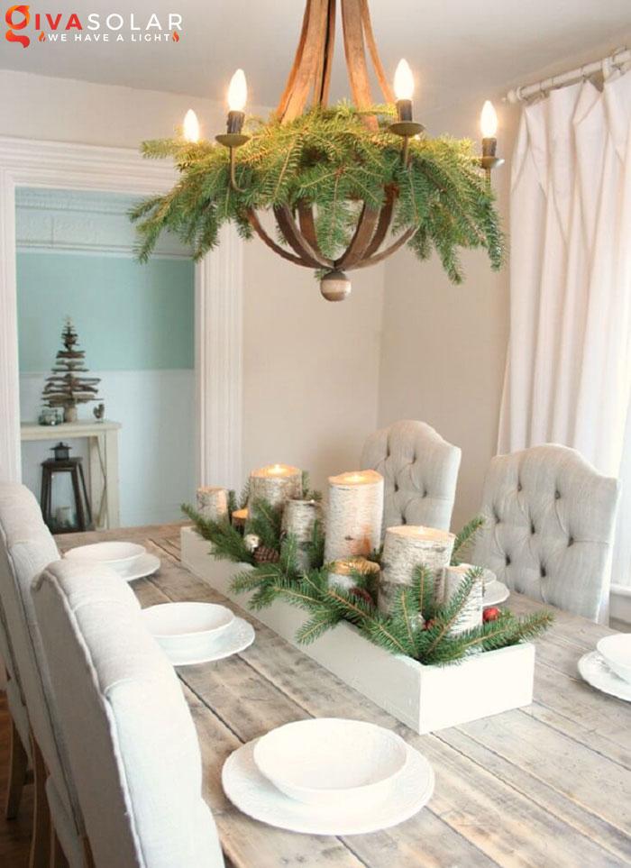 trang trí bàn ăn Noel tự làm tuyệt vời 37