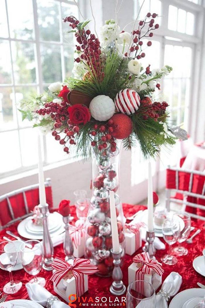trang trí bàn ăn Noel tự làm tuyệt vời 39