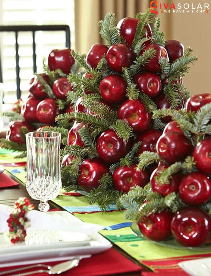 trang trí bàn ăn Noel tự làm tuyệt vời 45