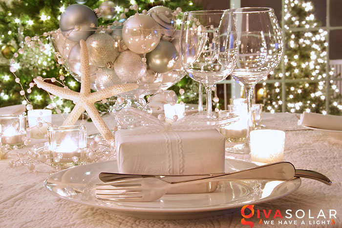 trang trí bàn ăn Noel tự làm tuyệt vời 47