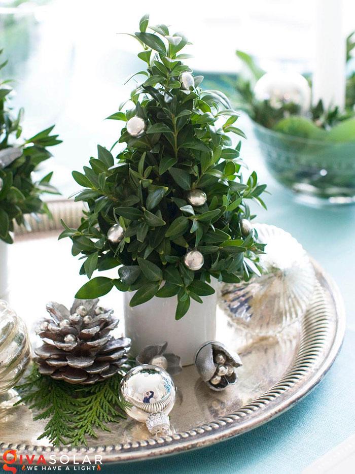 trang trí bàn ăn Noel tự làm tuyệt vời 48