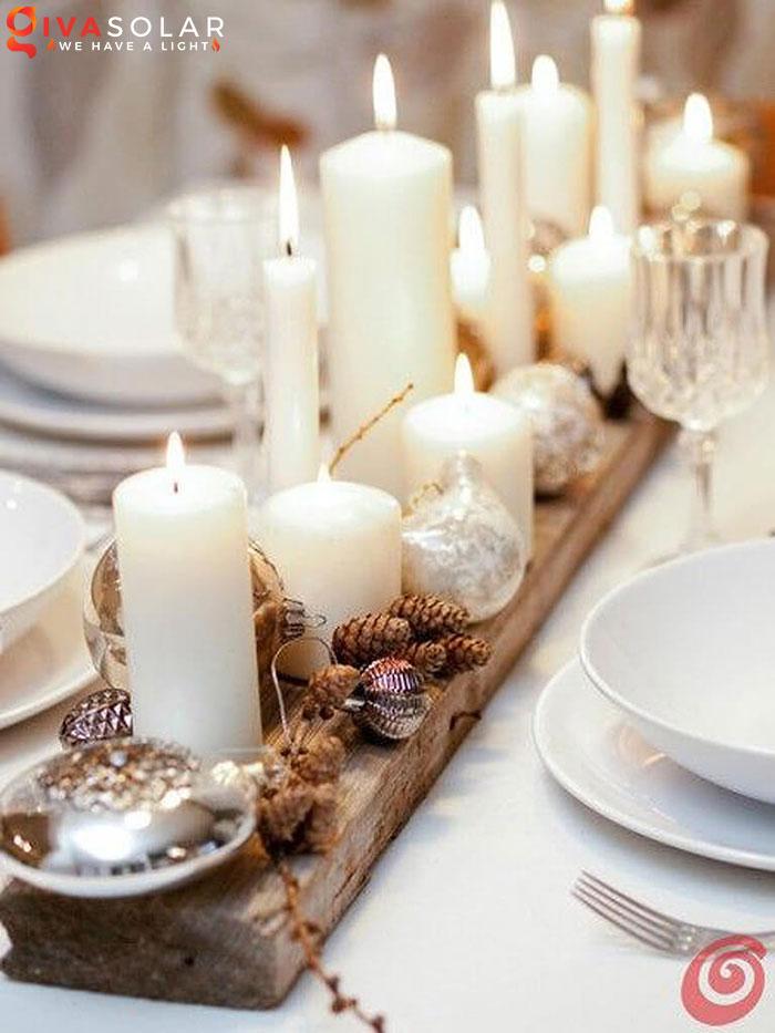 trang trí bàn ăn Noel tự làm tuyệt vời 49