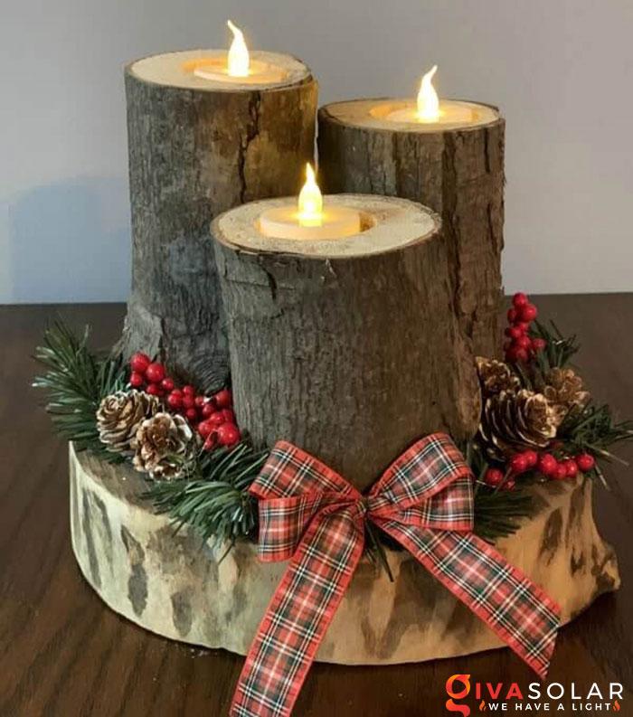 trang trí bàn ăn Noel tự làm tuyệt vời 5