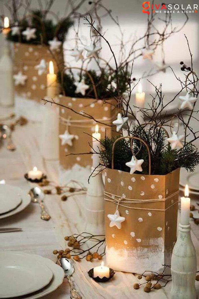 trang trí bàn ăn Noel tự làm tuyệt vời 50
