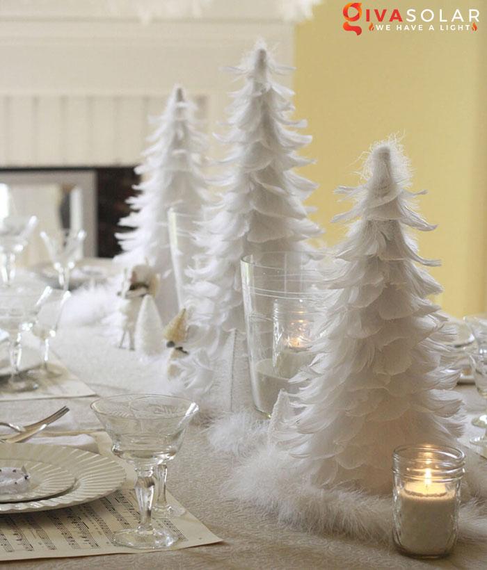 trang trí bàn ăn Noel tự làm tuyệt vời 51