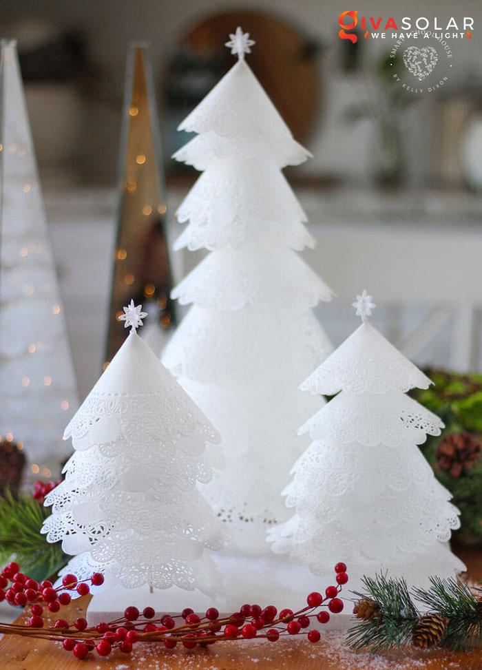 trang trí bàn ăn Noel tự làm tuyệt vời 8