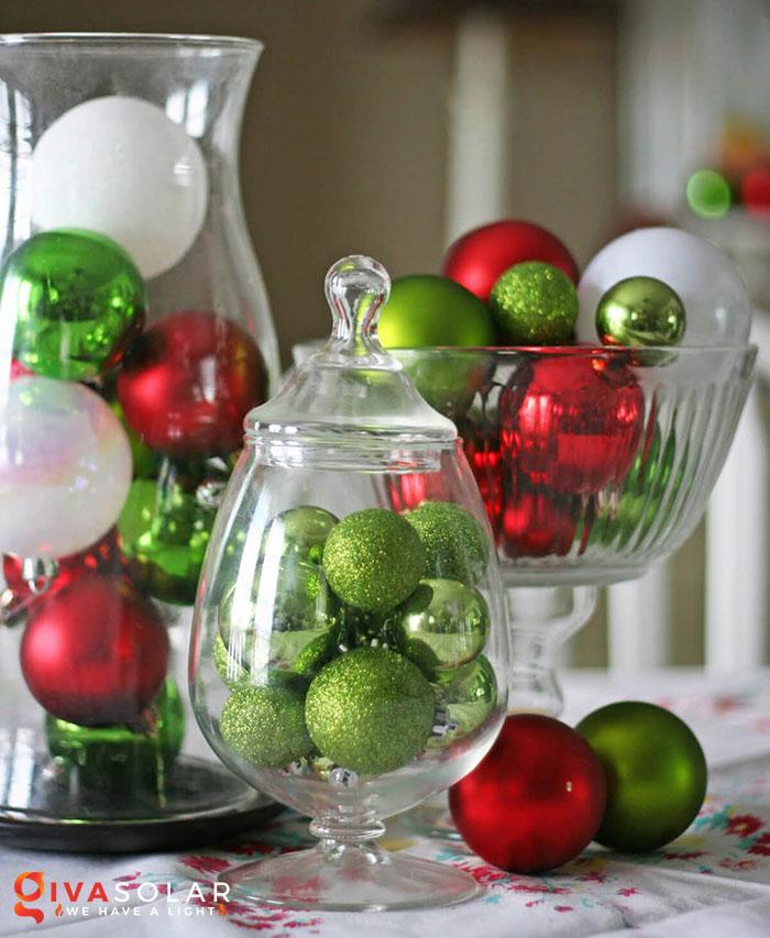 trang trí bàn ăn Noel tự làm tuyệt vời 9