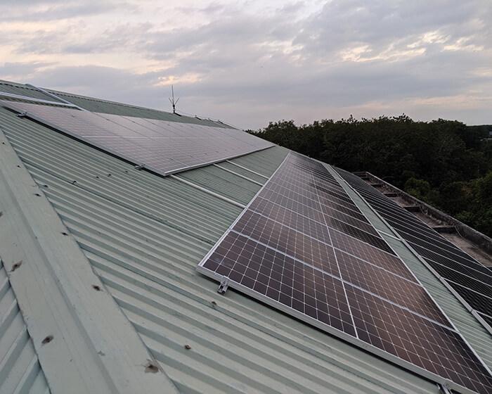 Dự án điện mặt trời hòa lưới 35KW cho Nhà thờ giáo xứ Xuân Sơn 10
