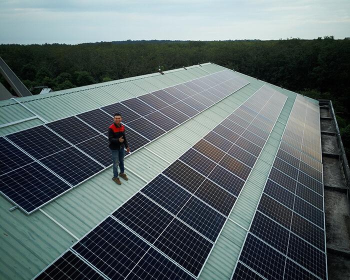 Dự án điện mặt trời hòa lưới 35KW cho Nhà thờ giáo xứ Xuân Sơn 7