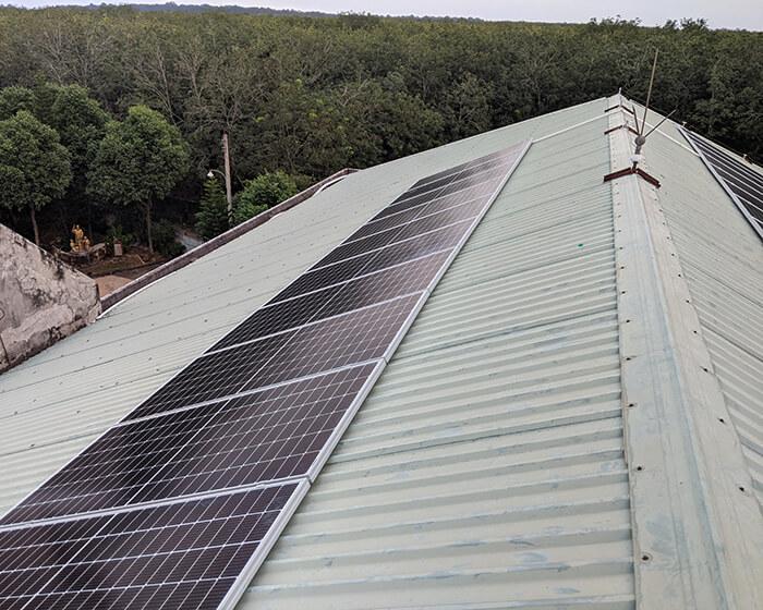 Dự án điện mặt trời hòa lưới 35KW cho Nhà thờ giáo xứ Xuân Sơn 9