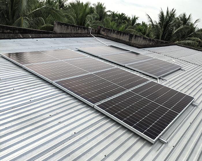 Dự án điện mặt trời hòa lưới 3KW cho anh Xây ở Bến Tre 2