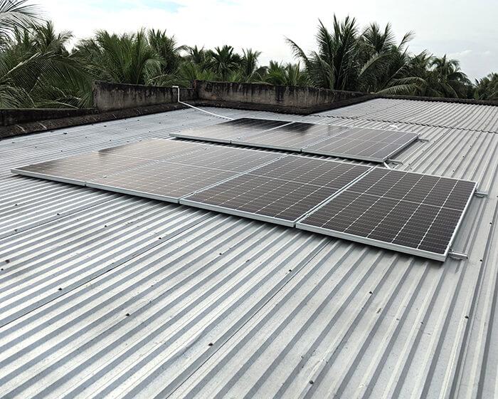 Dự án điện mặt trời hòa lưới 3KW cho anh Xây ở Bến Tre 3