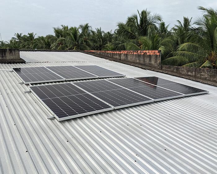Dự án điện mặt trời hòa lưới 3KW cho anh Xây ở Bến Tre 4