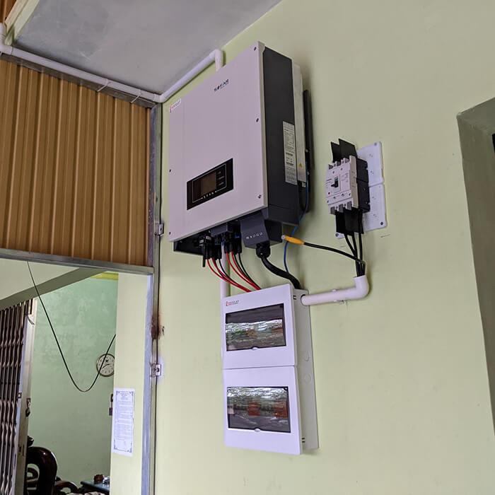 Dự án lắp điện mặt trời hòa lưới 30KW cho chú Sậu ở Lâm Đồng 5