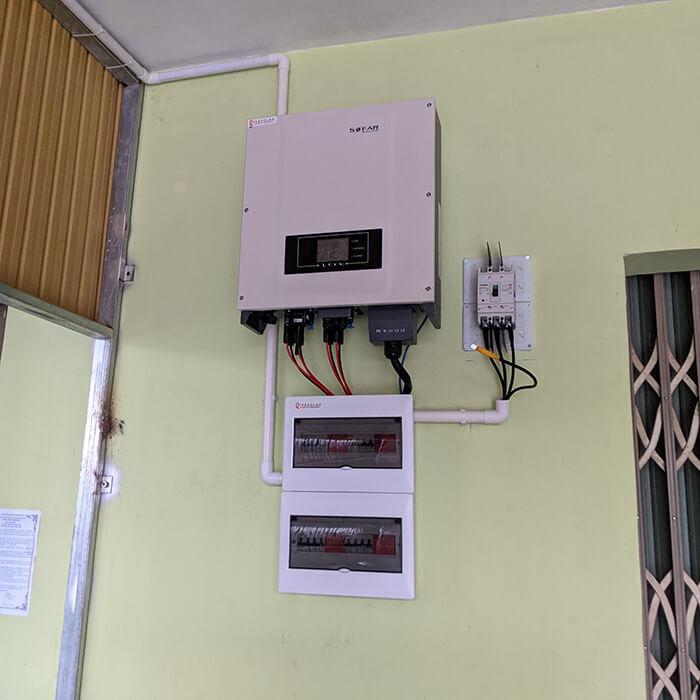 Dự án lắp điện mặt trời hòa lưới 30KW cho chú Sậu ở Lâm Đồng 6