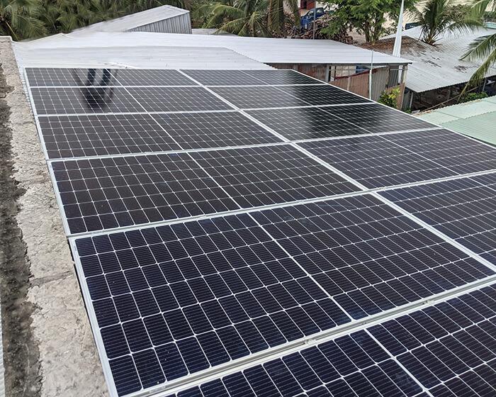 hệ thống năng lượng mặt trời 5KW cho chú Nang ở Bến Tre 4