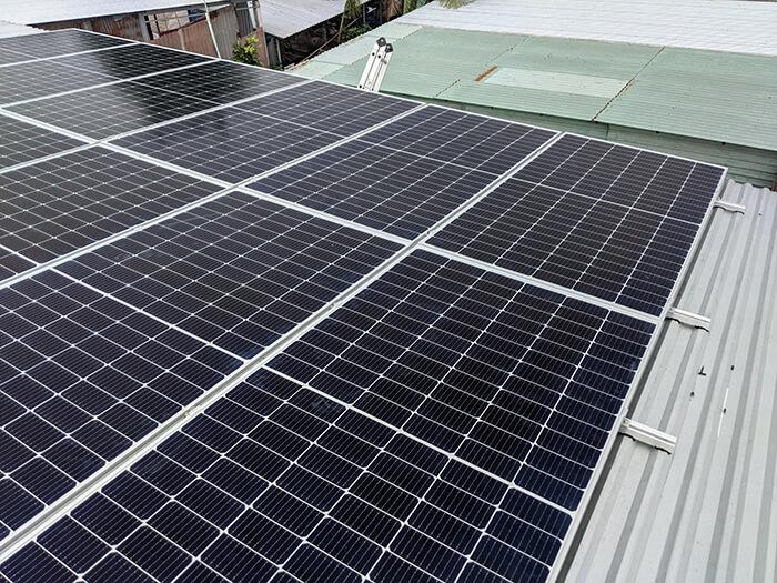 hệ thống năng lượng mặt trời 5KW cho chú Nang ở Bến Tre 5